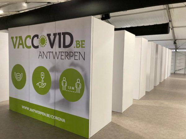 Vaccination centre - Antwerp