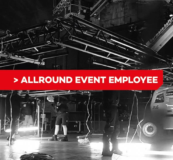 Allround event medewerker